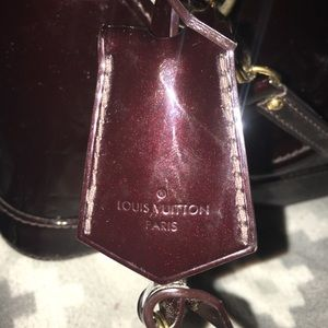 Louis Vuitton Bags - 100% AUTHENTIC Louis Vuitton Vernis Alma BB